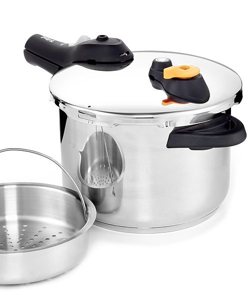 T Fal Stainless Steel 63 Qt Pressure Cooker Cookware Cookware
