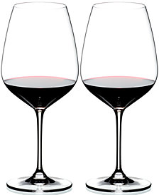 Riedel Set of 2 Heart to Heart Cabernet Glasses