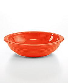 Fiesta Poppy Individual Pasta Bowl