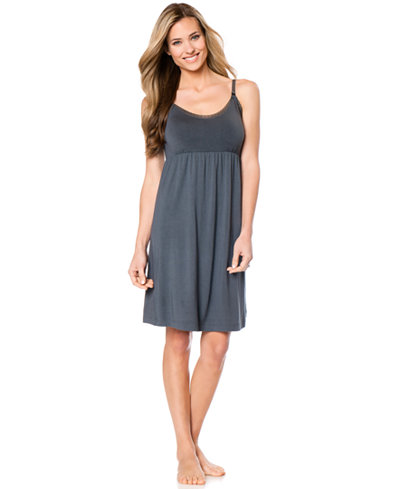 Bump In The Night™ Babydoll Clip-Down Nursing Nightgown