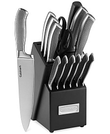 CLOSEOUT! Graphix Classic Stainless Steel 15-Pc. Cutlery Set