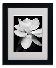 'Magnolia' Matted Framed Canvas Print by Michael Harrison