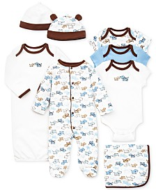 Little Me Baby Boys Cute Puppies Gift Bundle