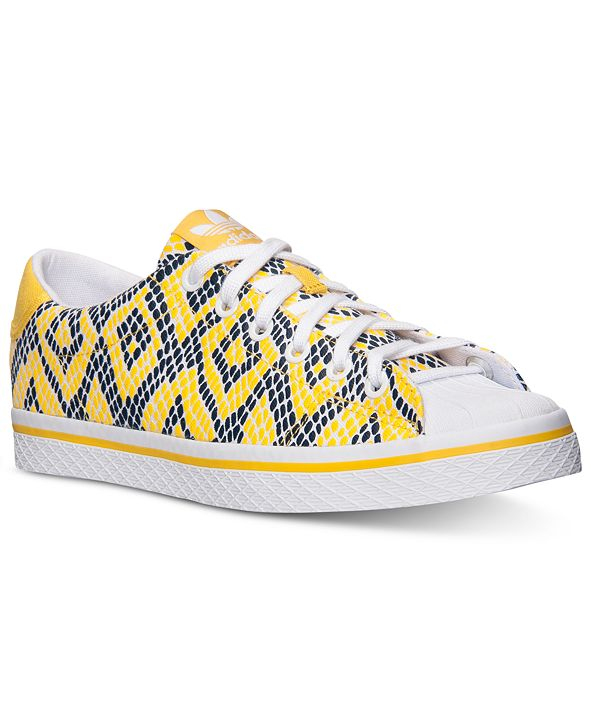 adidas Women's Originals Vulc Star Lo Print Casual Sneakers from Finish Line