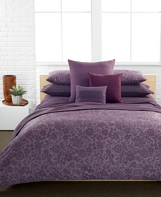 Closeout Calvin Klein Somerset Comforter And Duvet Cover