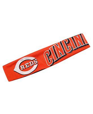 Little Earth Cincinnati Reds Fan Band Headband