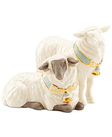 First Blessings Nativity Pair of Sheep Figurine