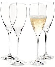 Riedel Vinum XL Champagne Flutes 4 Piece Value Set