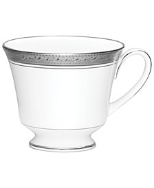 Dinnerware, Crestwood Platinum Teacup