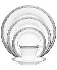 Dinnerware, Crestwood Platinum 5 Piece Place Setting