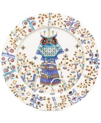 """Taika White Dinner 10.6"""" Plate"""