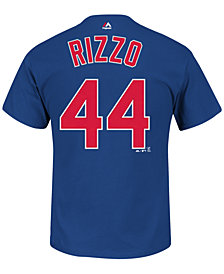 Majestic Men's Anthony Rizzo Chicago Cubs Official Player T-Shirt