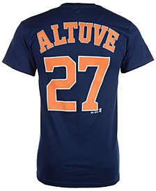Majestic Men's Jose Altuve Houston Astros Official Player T-Shirt
