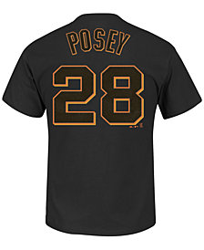 Majestic Men's Buster Posey San Francisco Giants Official Player T-Shirt