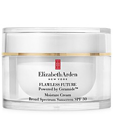 Flawless Future Powered by Ceramide Moisture Cream Broad Spectrum Sunscreen SPF 30, 1.7 oz