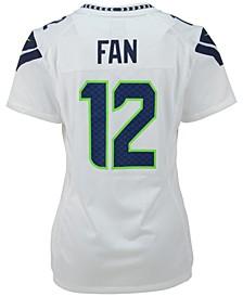 Women's Fan #12 Seattle Seahawks Game Jersey