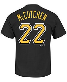 Majestic Men's Short-Sleeve Andrew McCutchen Pittsburgh Pirates Player T-Shirt