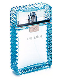 Versace Men's Eau Fraiche Eau de Toilette Spray, 6.7 oz