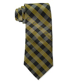 Eagles Wings Purdue Boilermakers Checked Tie