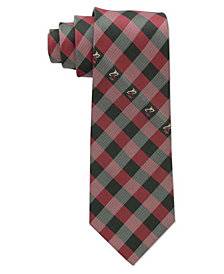 Eagles Wings Miami Heat Checked Tie