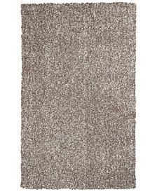 "Kas Bliss Heather Shag 27"" x 45"" Area Rug"