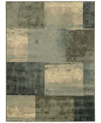 "CLOSEOUT! Warren Cove WC2061Z Gridlock 1'10"" x 2'10"" Area Rug"