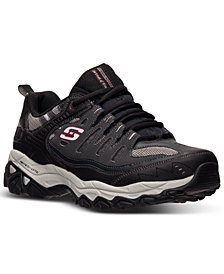 Skechers Men's Energy - After Burn Wide Width Training Sneakers from Finish Line