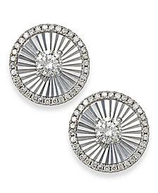 Diamond Stud Earrings in 14k White Gold (1/4 ct. t.w.)