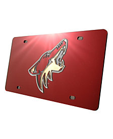 Rico Industries Arizona Coyotes Laser Tag License Plate