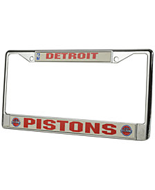 Rico Industries Detroit Pistons License Plate Frame