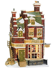 Department 56 Dicken's Village Scrooge and Marley Counting Collectible Figurine