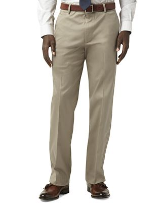 Dockers® Men's Stretch Straight Fit Iron Free Khaki Pants D2 ...