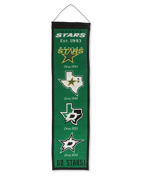 Winning Streak Dallas Stars Heritage Banner