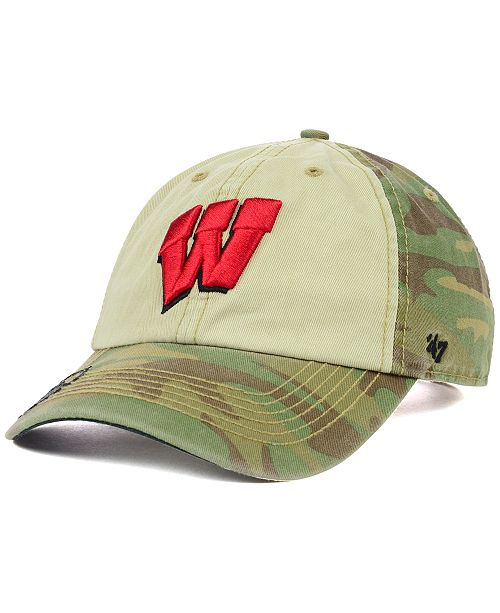 89b5548c34a  47 Brand. Wisconsin Badgers OHT Gordie Clean Up Cap. Be the first to Write  a Review. main image ...