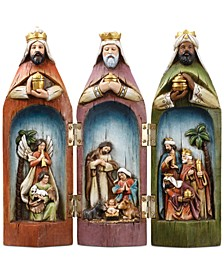 Three Kings Figure with Holy Family Scene, Created for Macy's