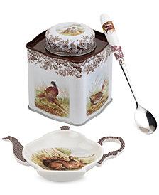 Spode Woodland 3 Piece Tea Set