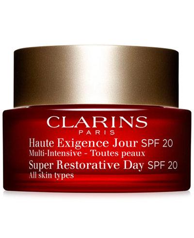 Clarins Super Restorative Day Cream with SPF 20, 1.7 oz.