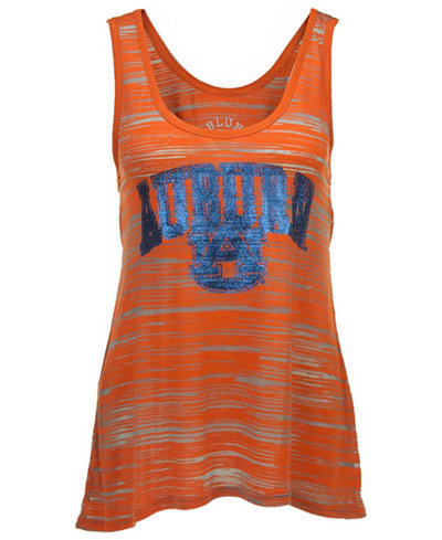 Step Ahead Women's Auburn Tigers Quiver Burnout Tank Top