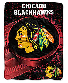 Northwest Company Chicago Blackhawks Throw Blanket