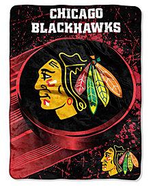 Northwest Company Chicago Blackhawks Throw Blanket