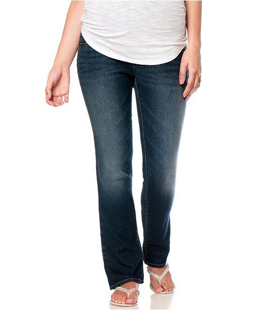 96d90ae3aef8e Motherhood Maternity Petite Bootcut Maternity Jeans & Reviews ...