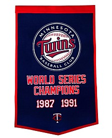 Winning Streak Minnesota Twins Dynasty Banner
