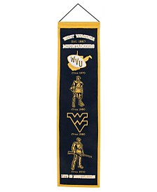 Winning Streak West Virginia Mountaineers Heritage Banner