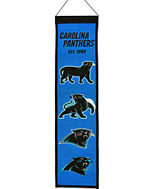Winning Streak Carolina Panthers Heritage Banner