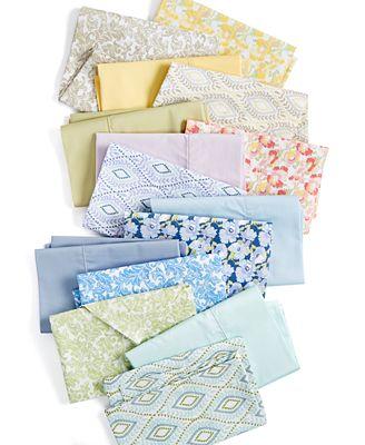 Martha Stewart Collection Closeout Printed Sheet Sets 300 Thread