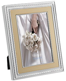 "Vera Wang Wedgwood With Love Gold 8""x 10"" Frame"