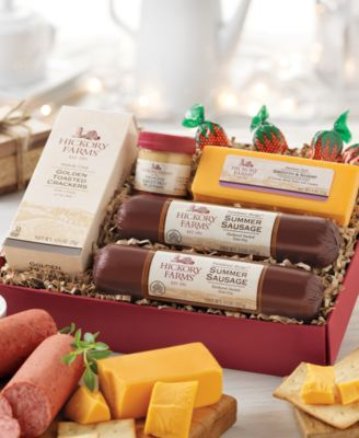 Hickory Farms Classic Hickory Sampler Meat & Cheese Gift Set ...