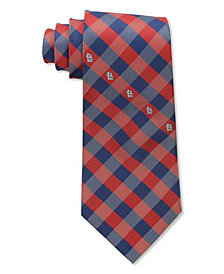 Eagles Wings St. Louis Cardinals Checked Tie