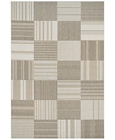 CLOSEOUT! Indoor/Outdoor Afuera 5038/6031 Patchwork Area Rugs