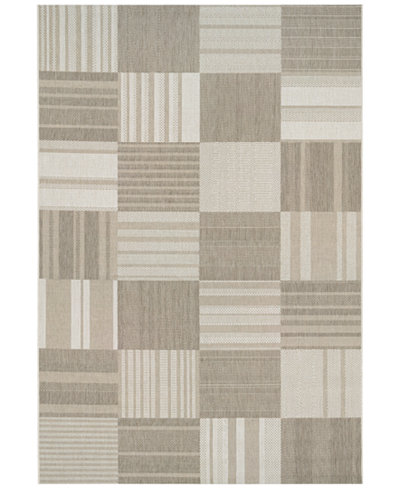 Couristan Indoor/Outdoor Afuera 5038/6031 Patchwork 2' x 3'7